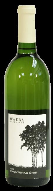 Frontenac Gris 2013 - wine bottle