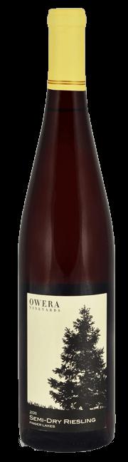 Semi-Dry Riesling 2013 - wine bottle