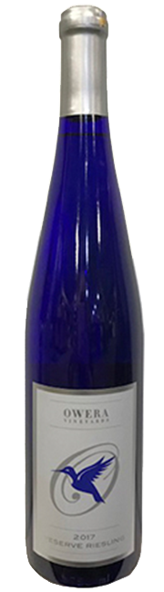 Reserve Riesling 2017 bottle product shot